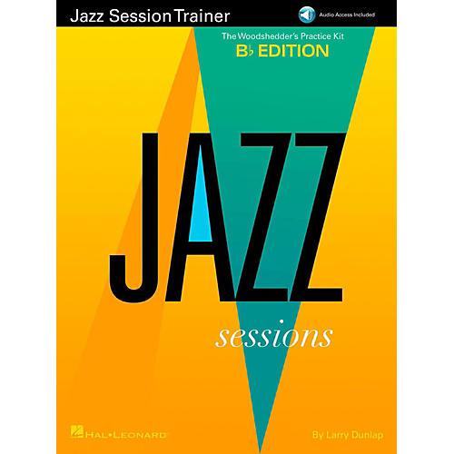 Hal Leonard Jazz Session Trainer - The Woodshedder's Practice Kit  B-Flat Edition (Book/Online Audio)
