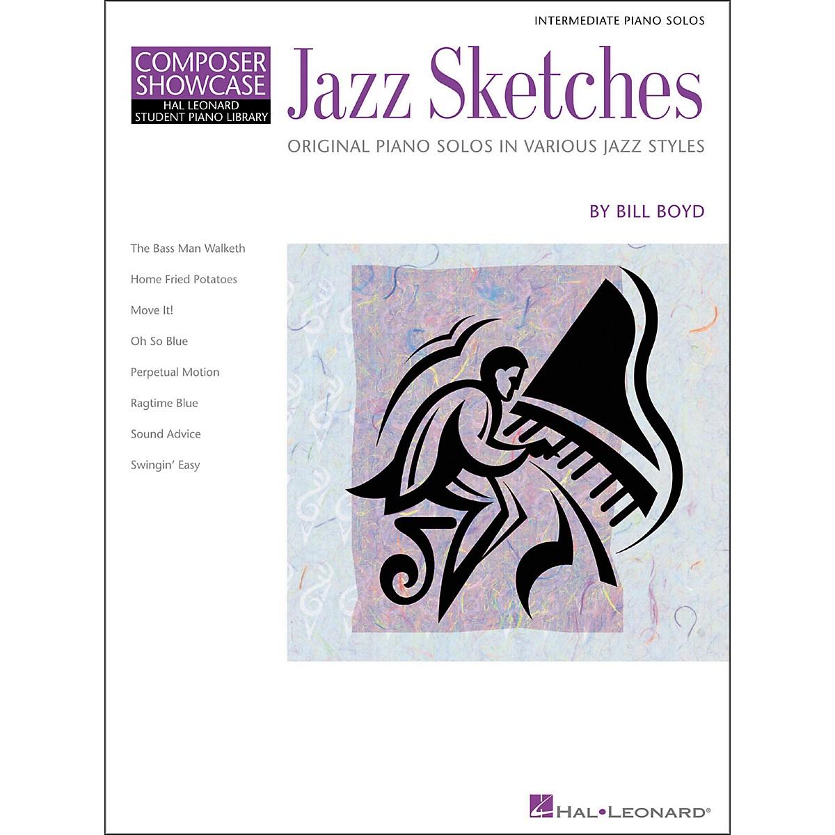 Hal Leonard Jazz Sketches Hal Leonard Student Piano Library by Bill Boyd