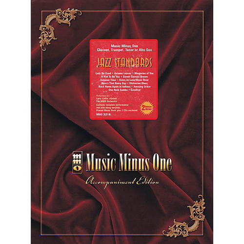 Music Minus One Jazz Standards with Rhythm Section (Book/2-CD Pack) Music Minus One Series BK/CD