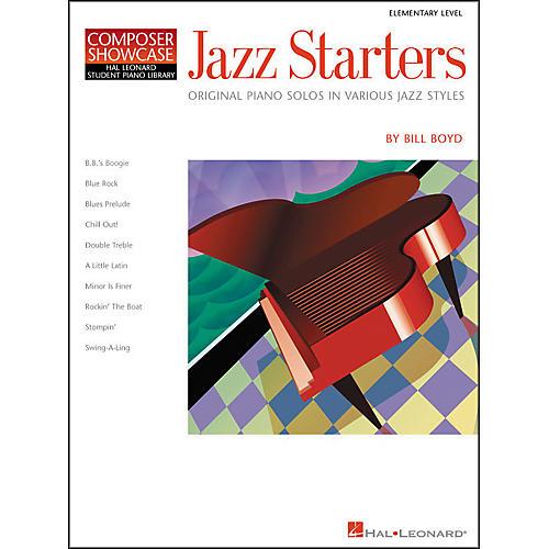 Hal Leonard Jazz Starters Piano Solos Early Elementary Hal Leonard Student Piano Library by Bill Boyd