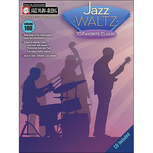 Hal Leonard Jazz Waltz - Jazz Play-Along Volume 108 (CD/Pkg)
