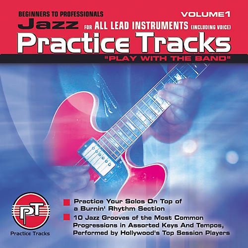 Practice Tracks Jazz for All Lead Instruments (CD)
