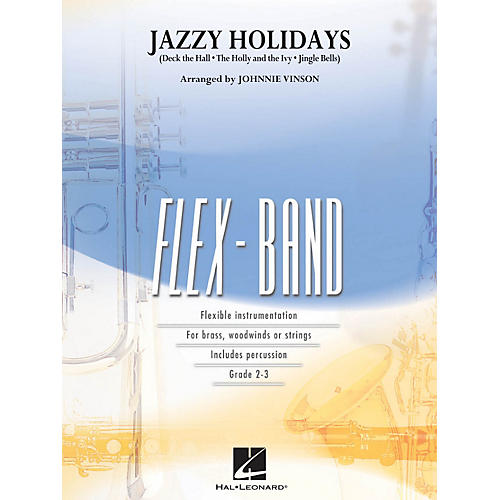 Hal Leonard Jazzy Holidays - Flex-Band Series