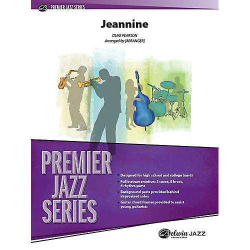 Alfred Jeannine Jazz Band Grade 4 Set