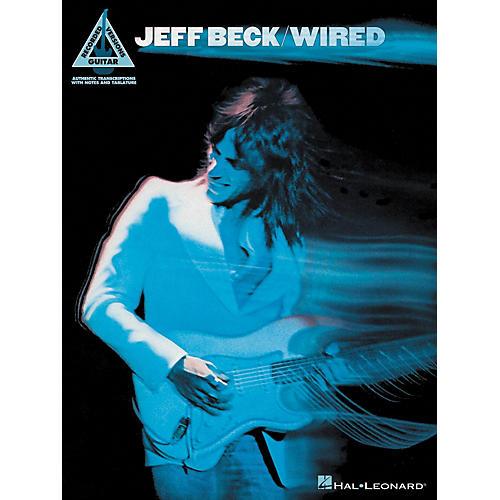 Hal Leonard Jeff Beck - Wired Guitar Tab Songbook