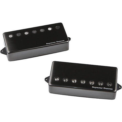 Seymour Duncan Jeff Loomis Blackouts 7-String Humbucker Guitar Pickup Set with Passive Mounts