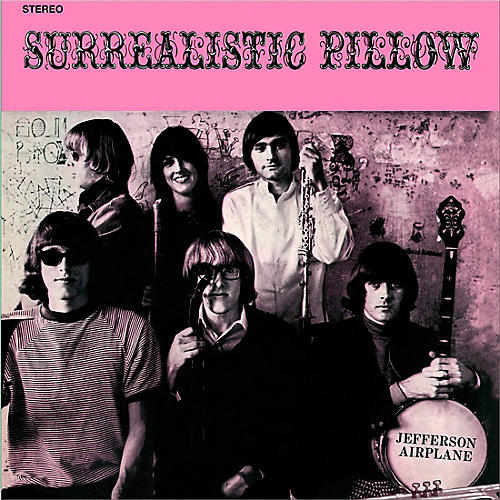 RED Jefferson Airplane - Surrealistic Pillow