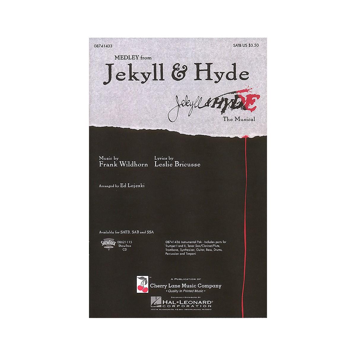 Cherry Lane Jekyll & Hyde (Medley) SATB arranged by Ed Lojeski