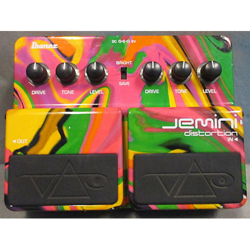 Ibanez Jemini Distortion Effect Pedal