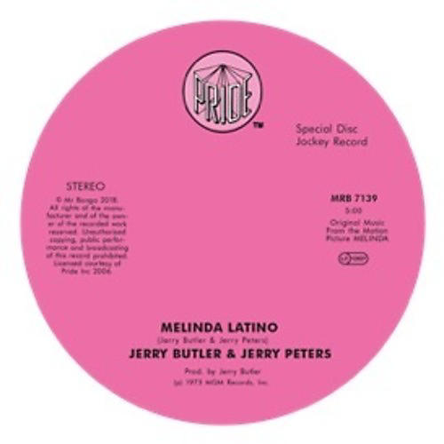 Alliance Jerry Butler Jerry Peters & Jimmy Smith - Melinda Latino / I'm Gonna Love You Just A Little Bit More Babe