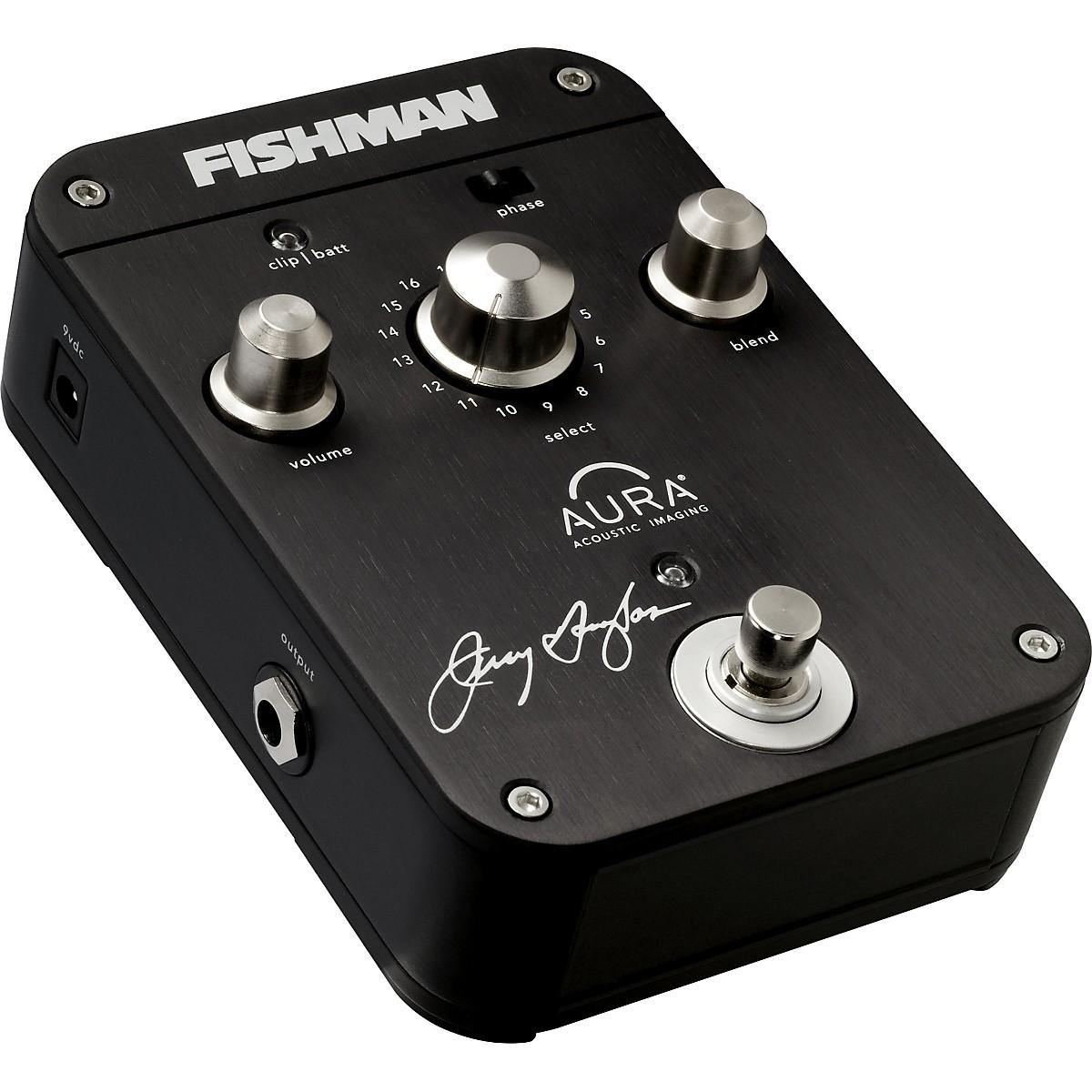 Fishman Jerry Douglas Signature Aura Imaging Effects Pedal for Resonator Guitar
