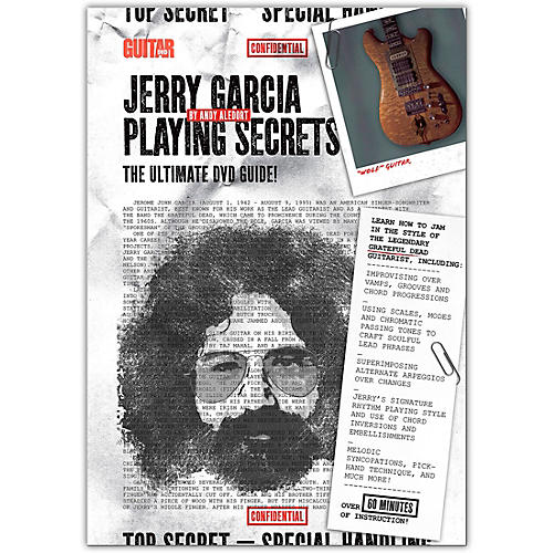 Guitar World Jerry Garcia Playing Secrets DVD Intermediate