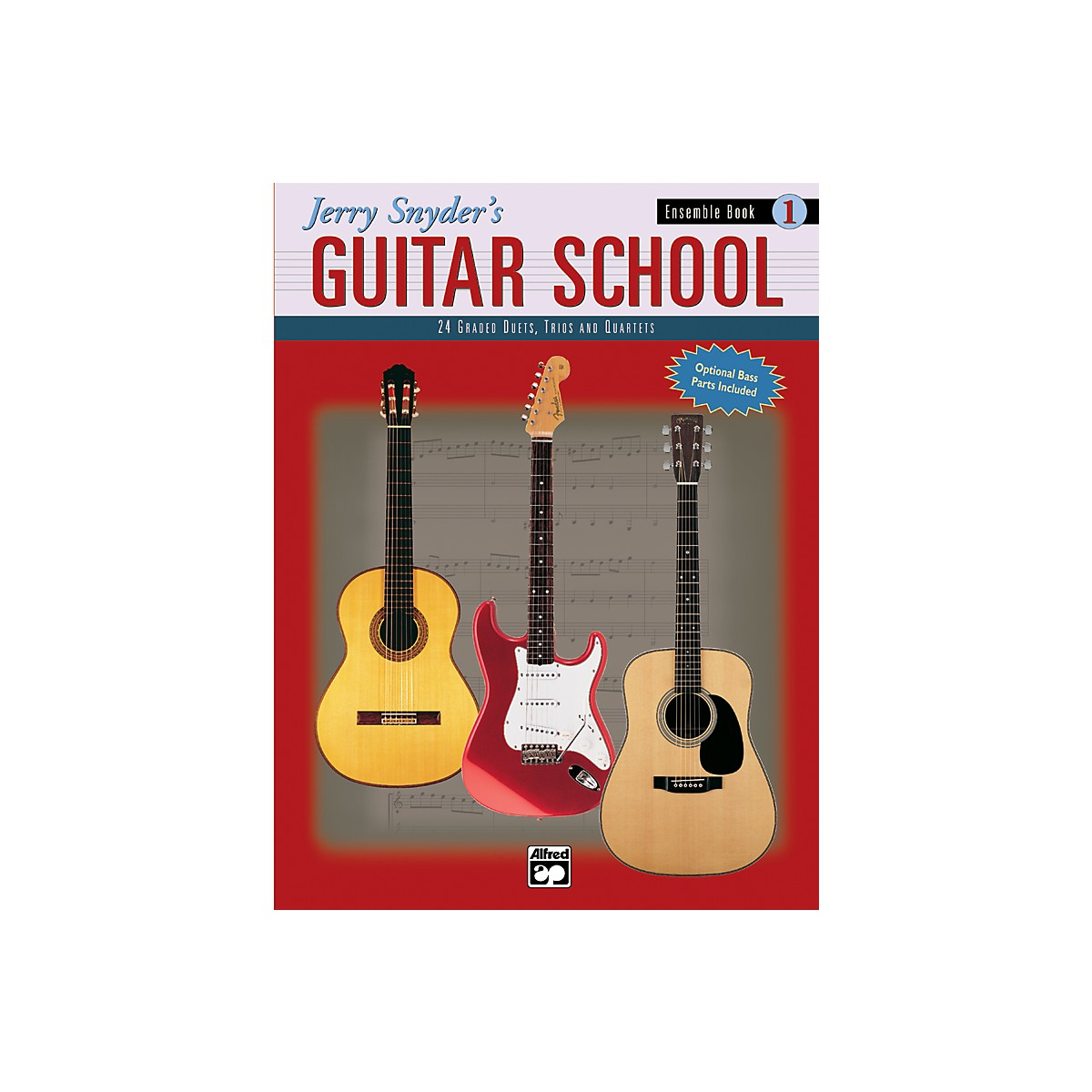 Alfred Jerry Snyder's Guitar School Ensemble Book 1