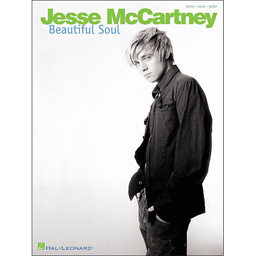 Hal Leonard Jesse McCartney - Beautiful Soul Piano/Vocal/Guitar Artist Songbook