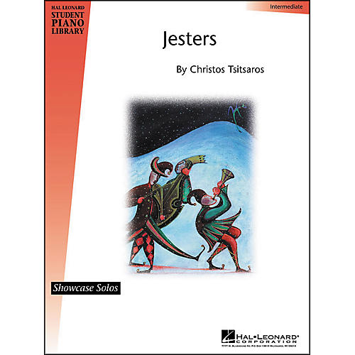Hal Leonard Jesters Intermediate Showcase Solos Hal Leonard Student Piano Library by Chris Tsitsaros