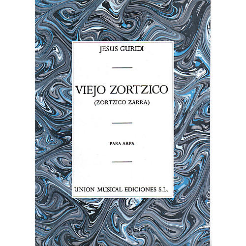 Music Sales Jesus Guridi: Viejo Zortzico For Harp Music Sales America Series