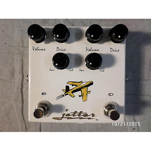 Jetter Gear JetDrive Dual Overdrive Effect Pedal