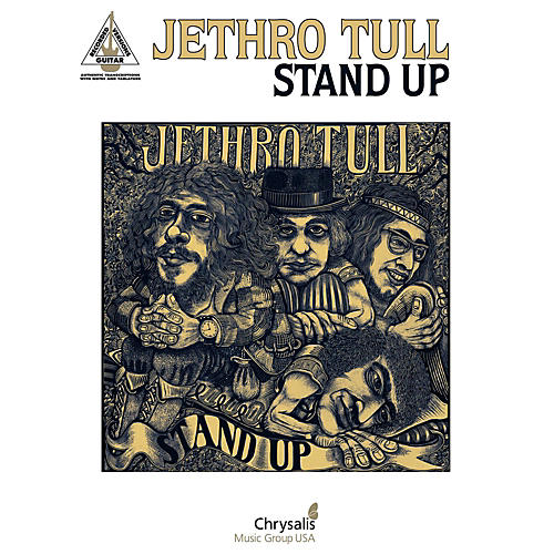 Hal Leonard Jethro Tull - Stand Up Guitar Tab Songbook