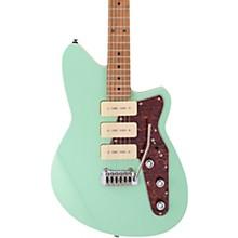 Jetstream 390 Maple Fingerboard Electric Guitar Oceanside Green