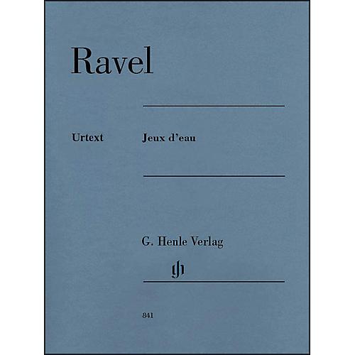 G. Henle Verlag Jeux d'eau Piano Solo By Ravel