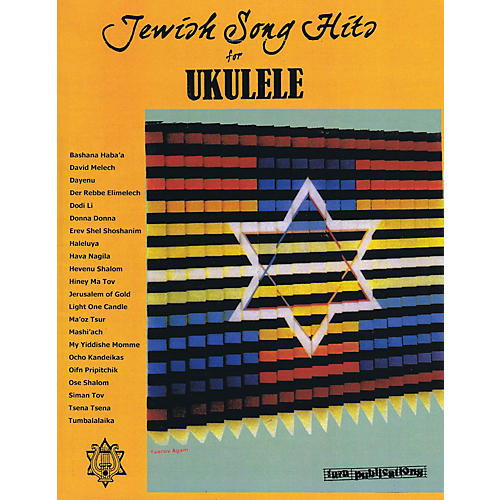 Tara Publications Jewish Song Hits for Ukulele Tara Books Series Softcover