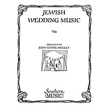 Southern Jewish Wedding Music Southern Music Series Arranged by Judy Levine-holley