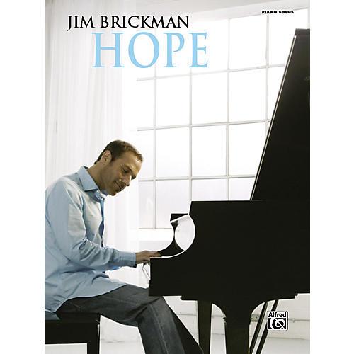 Alfred Jim Brickman Hope Piano Solos