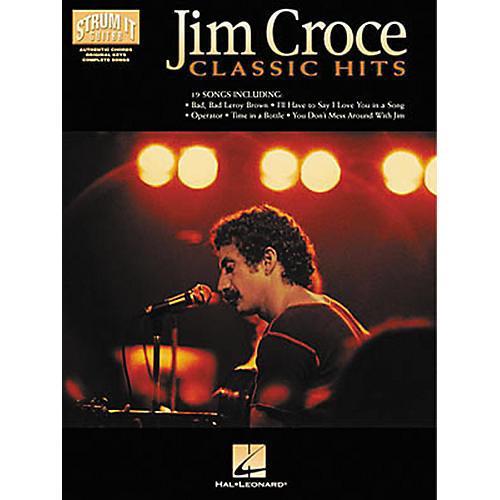 Hal Leonard Jim Croce - Classic Hits Strum It Guitar Book