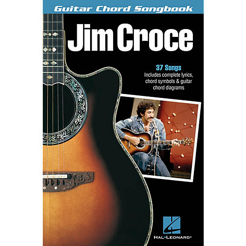 Hal Leonard Jim Croce Guitar Chord Songbook Guitar Chord Songbook