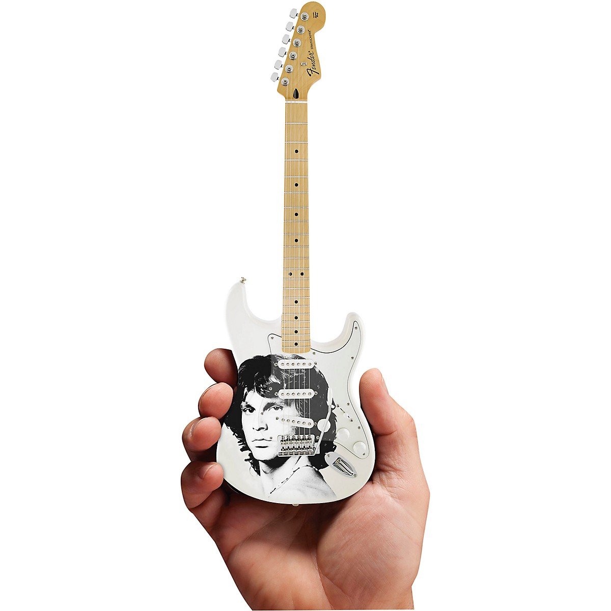 Axe Heaven Jim Morrison Tribute Fender Stratocaster Officially Licensed Miniature Guitar Replica