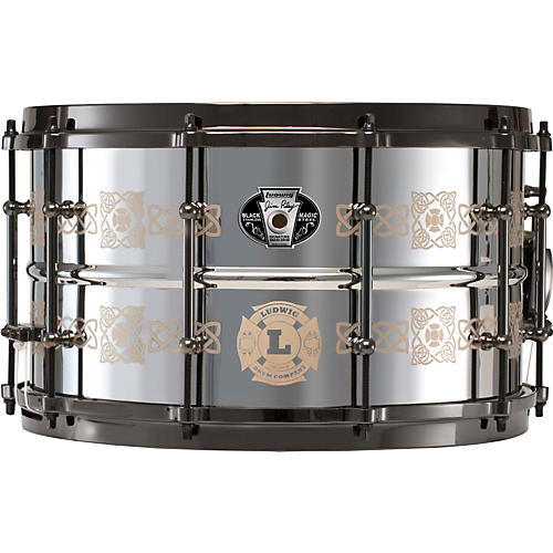 Ludwig Jim Riley Signature Steel Snare Drum