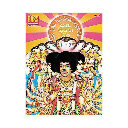 Hal Leonard Jimi Hendrix - Axis: Bold As Love Bass Tab Book