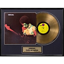 24 Kt. Gold Records Jimi Hendrix - Band of Gypsys Gold LP Limited Edition of 2500 Level 1