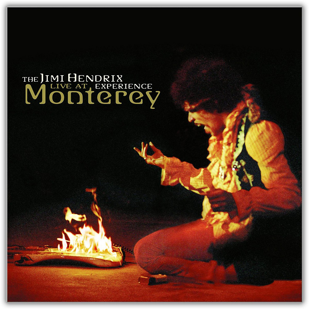 Sony Jimi Hendrix - Live at Monterey Vinyl LP