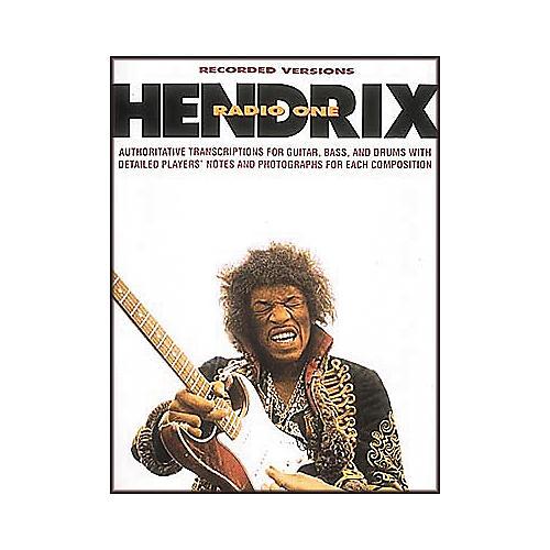 Hal Leonard Jimi Hendrix - Radio One Guitar Tab Book