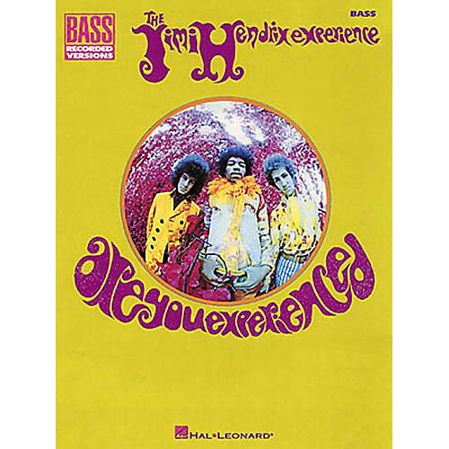 Hal Leonard Jimi Hendrix Are You Experienced Bass Guitar Tab Songbook