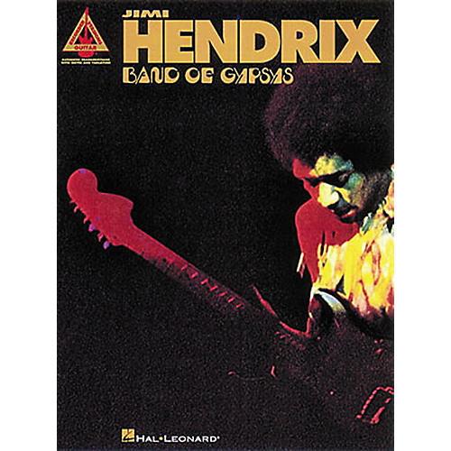 Hal Leonard Jimi Hendrix Band of Gypsys Guitar Tab Songbook