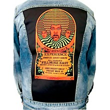 Dragonfly Clothing Jimi Hendrix Experience 3 Faces - Psychedelic Boys Denim Jacket