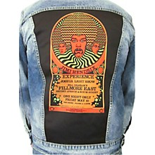 Dragonfly Clothing Jimi Hendrix Experience 3 Faces - Psychedelic Girls Denim Jacket