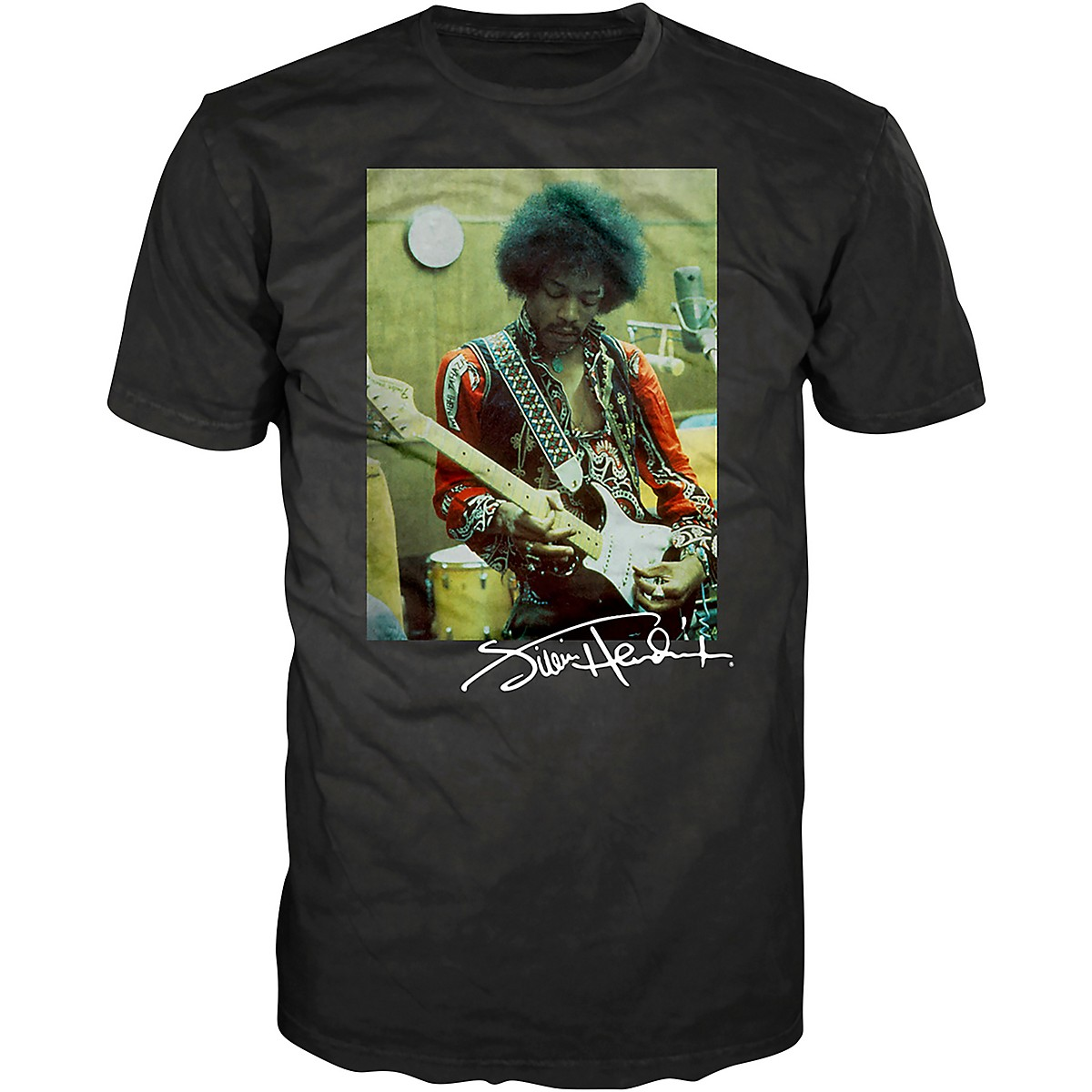 Guitar Center Jimi Hendrix In The Studio Photograph T-Shirt