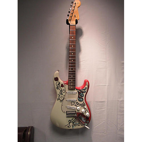 Fender Jimi Hendrix Monterey Stratocaster Solid Body Electric Guitar