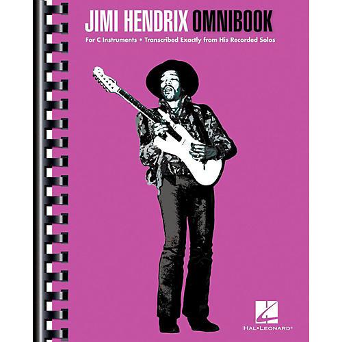 Hal Leonard Jimi Hendrix Omnibook for C Instruments
