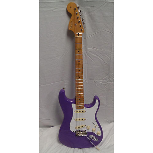 used fender jimi hendrix stratocaster solid body electric guitar purple guitar center. Black Bedroom Furniture Sets. Home Design Ideas