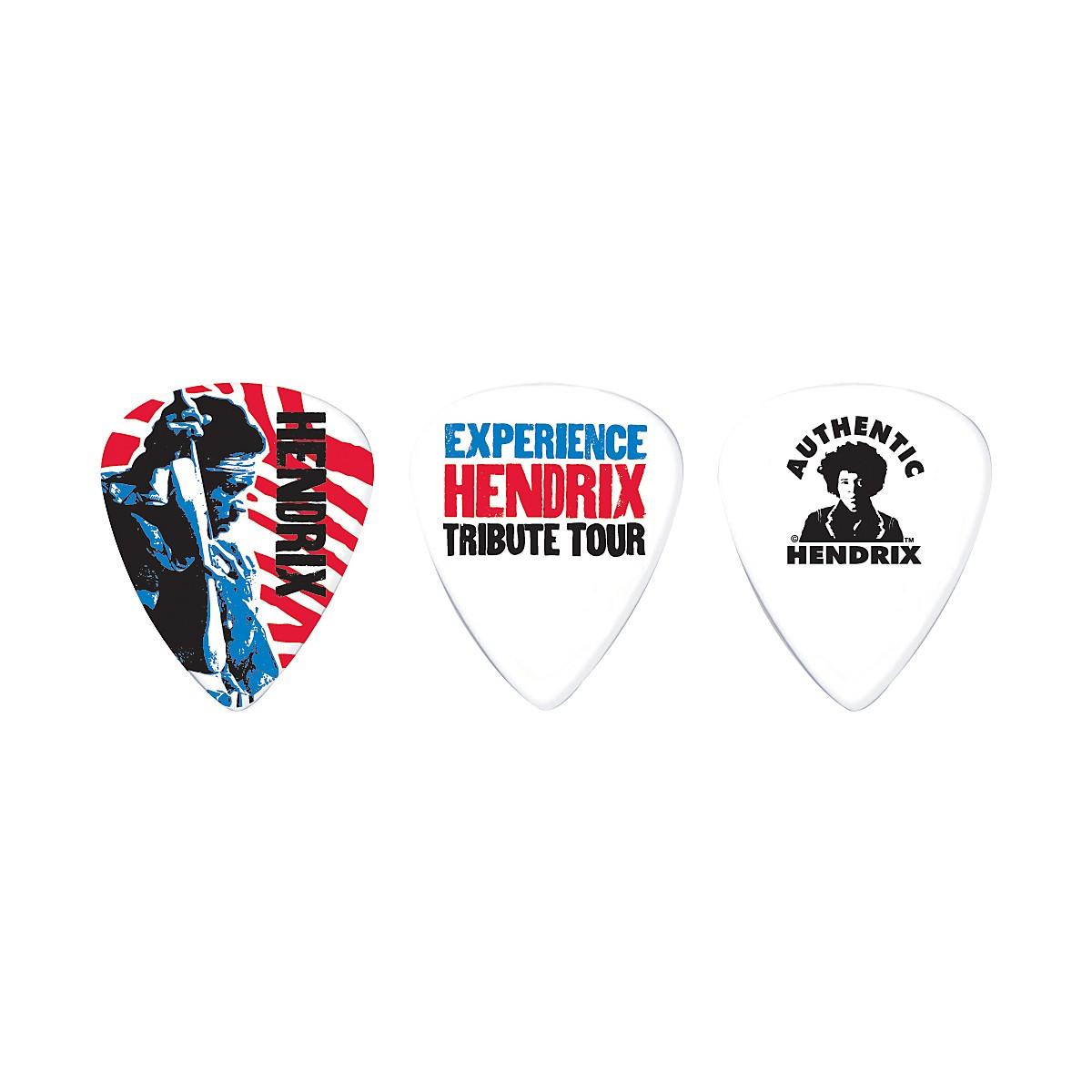 Dunlop Jimi Hendrix Tribute Tour Pick Tin with 6 Medium Picks