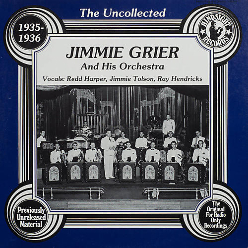 Alliance Jimmie Grier & Orchestra - Uncollected