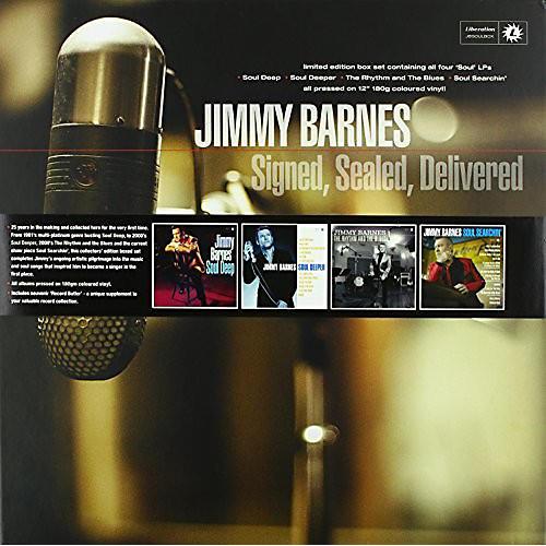 Alliance Jimmy Barnes - Signed Sealed Delivered