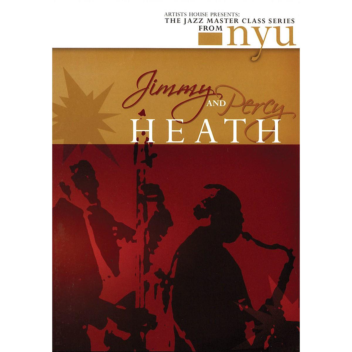 Artists House Jimmy & Percy Heath - The Jazz Master Class Series from NYU (2-DVD Set) DVD Series DVD by Jimmy Heath