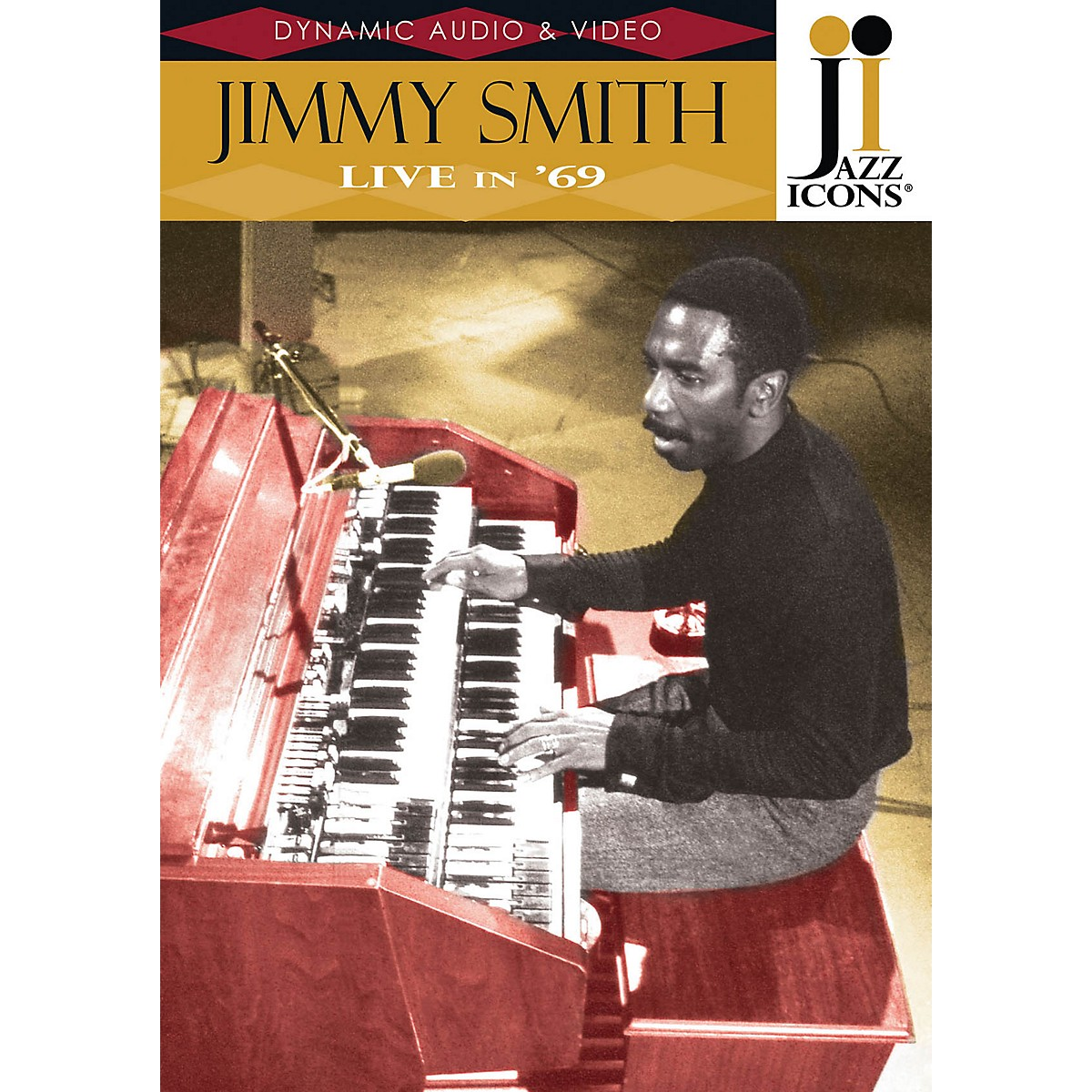 Jazz Icons Jimmy Smith - Live in '69 (Jazz Icons DVD) DVD Series DVD Performed by Jimmy Smith