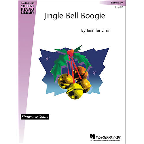 Hal Leonard Jingle Bell Boogie Elementary Level 2 Showcase Solos Hal Leonard Student Piano Library by Jennifer Linn