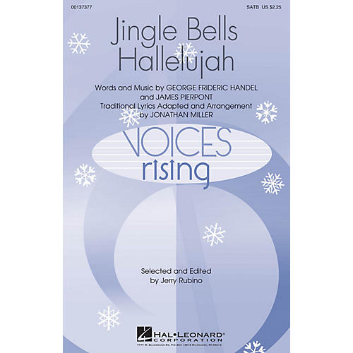 Hal Leonard Jingle Bells Hallelujah SATB arranged by Jonathan Miller